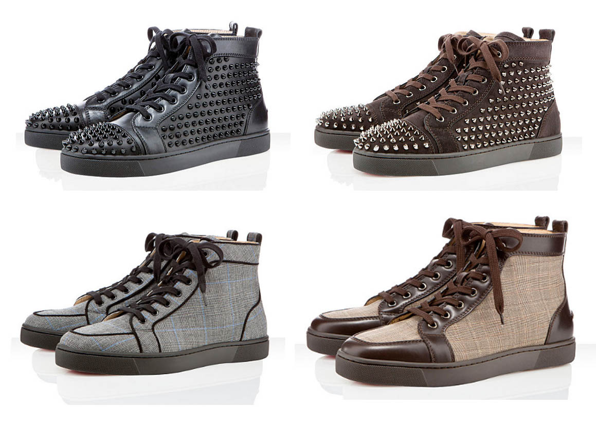 chaussure louboutin homme basse