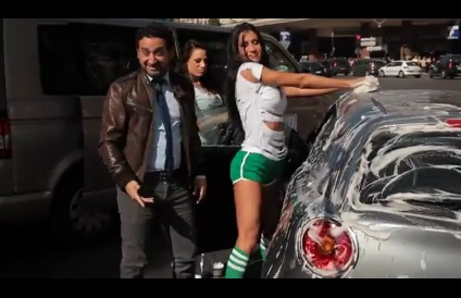 Le Sexy Car Wash de Cyril Hanouna