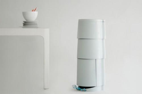 Tri3 la poubelle recyclage by constance guisset le - Poubelle trois compartiments ...