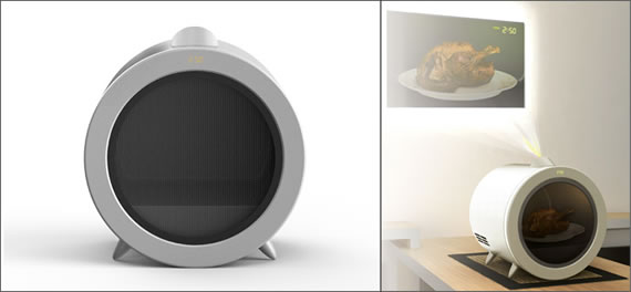 proinjector micro onde et vid oprojecteur le blog des tendances. Black Bedroom Furniture Sets. Home Design Ideas