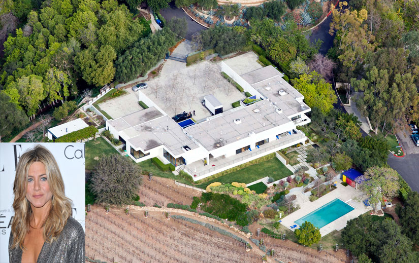 ... la nouvel villa de Jennifer Aniston à Bel Air - Le blog des tendances
