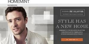 HomeMint – Justin Timberlake lance son site de déco