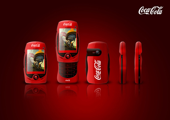 Le portable Coca Cola by David Carrillo