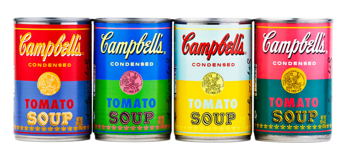 Les éditions limitées de la soupe Campbell