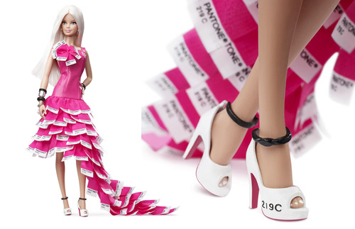 La Barbie Pantone