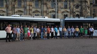 Le bus le plus long du monde : 30 mètres