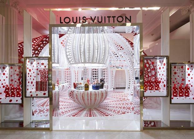 Le Concept Store Louis Vuitton by Yayoi Kusama chez Selfridges