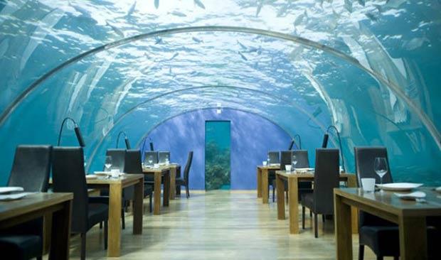 L'hôtel sous l'eau Poseidon