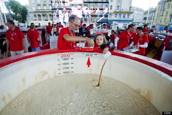 Le plus grand Cappuccino au monde