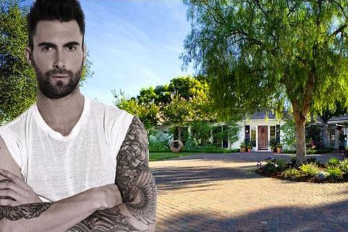 Visite de la maison d'Adam Levine