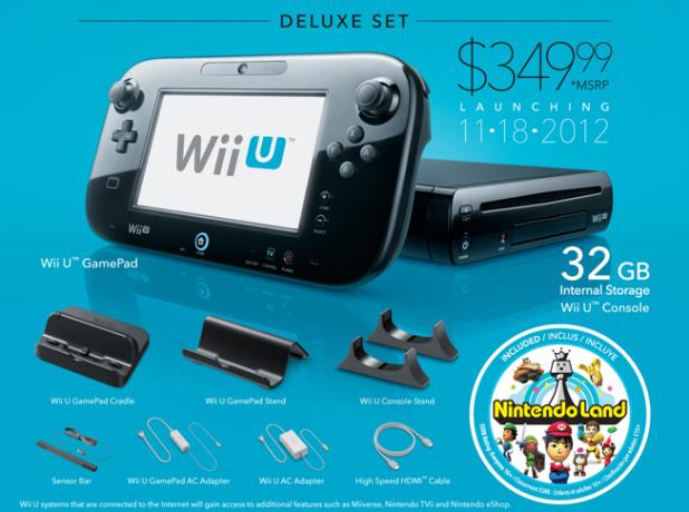 La Wii U sera vendue à perte