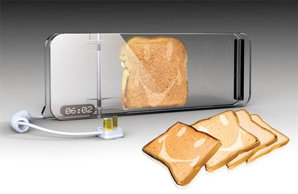 Faites sourire votre pain grillé