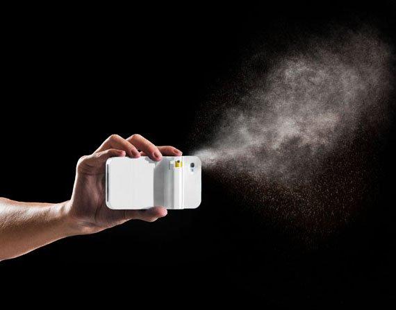 Spraytect – La coque iPhone d'auto-défense