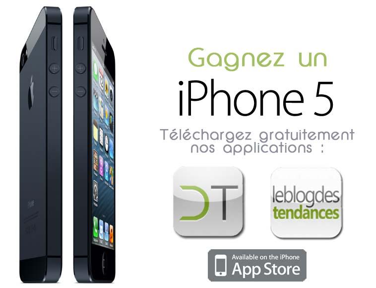 Le gagnant de l'iPhone 5 est :