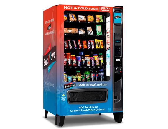 Le distributeur automatique micro-ondes