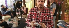 Quand James Franco test le Samsung Galaxy Camera &#8211; Vido sponsorise