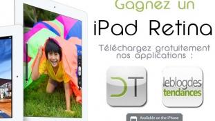 Gagnez le nouvel iPad avec Le Blog des Tendances et Deco Tendency