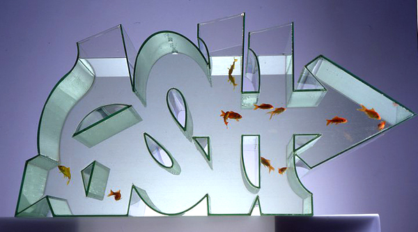 L'aquarium Graffiti by Dean Coleman Zeus