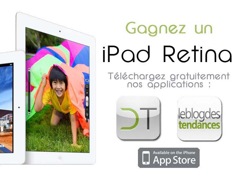 Le gagnant du nouvel iPad est …