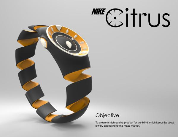 montre Nike Citrus