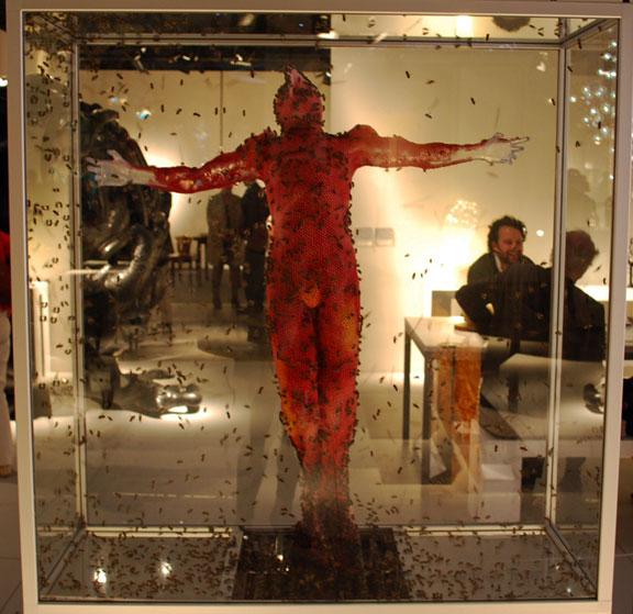 sculpture vivante
