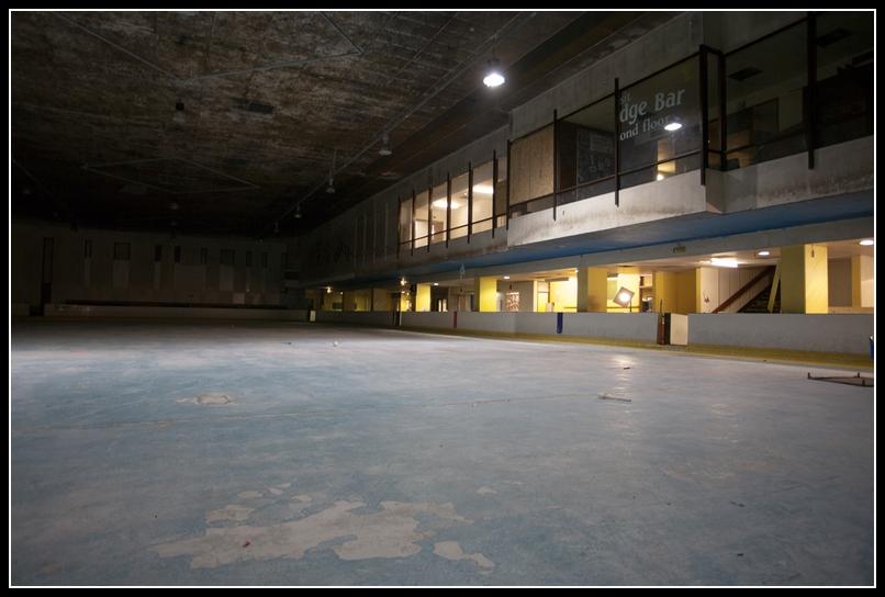 patinoire abandonnée Bristol