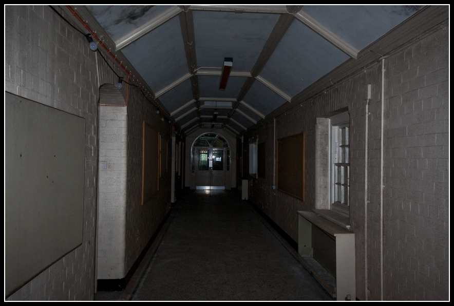 hopital abandonné St Lawrences