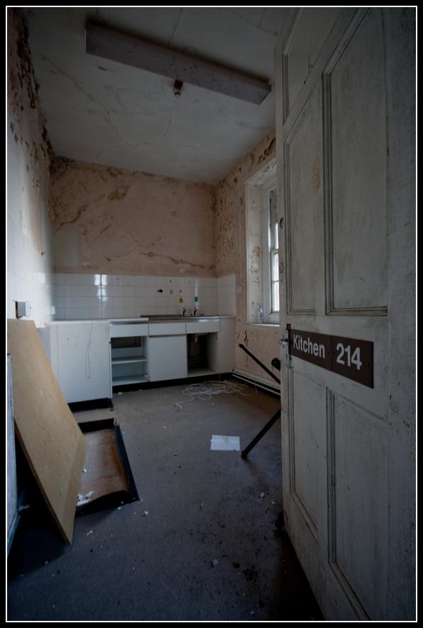 hopital abandonné St Lawrences