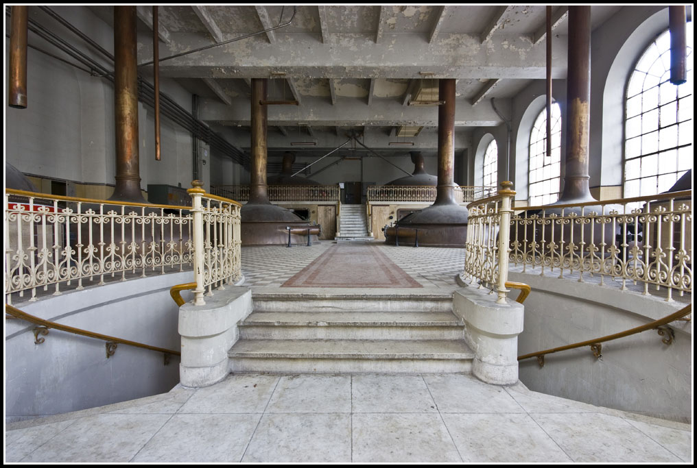 brasserie abandonnée Stella-Artois