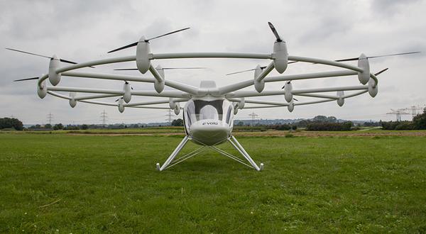 hélicoptère électrique E-Volo VC200