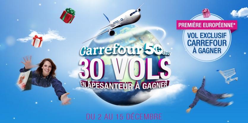Carrefour Vol en Apesanteur