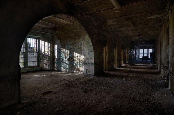 hôpital psychatrique abandonné Verden