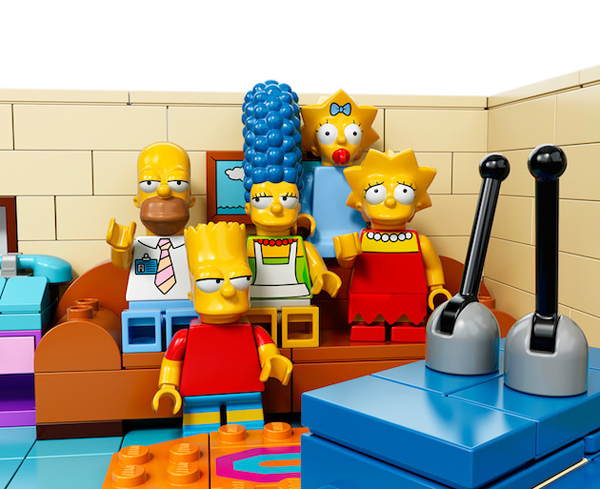 Les Simpsons version Lego