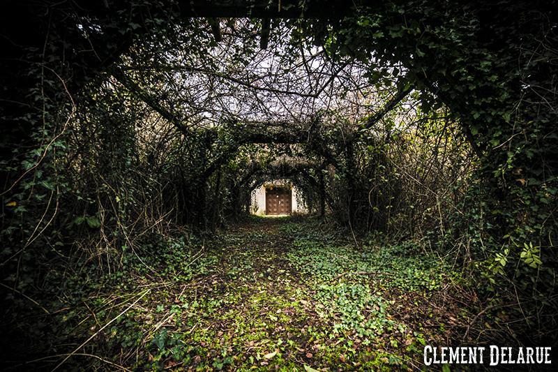 parc d'attraction abandonné