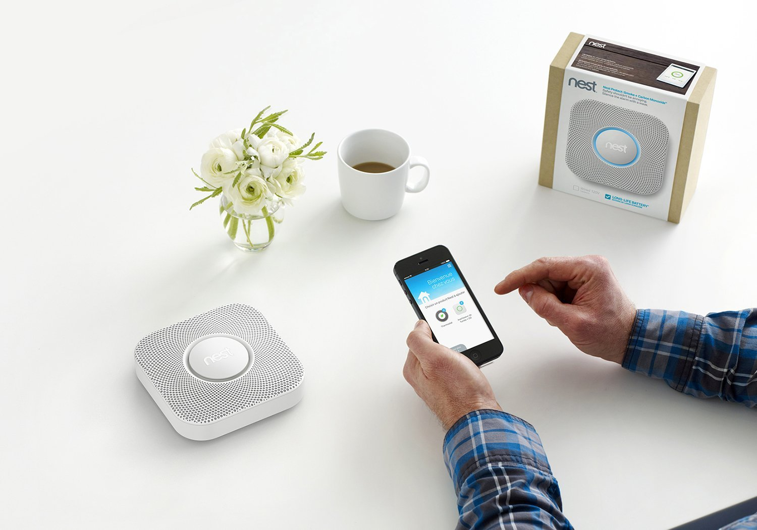 Gagnez un dispositif Nest Protect
