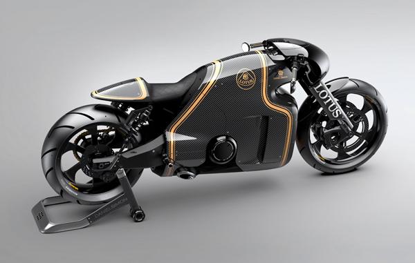 C-01 moto Lotus Daniel Simon