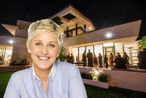 Visite de la maison d'Ellen DeGeneres