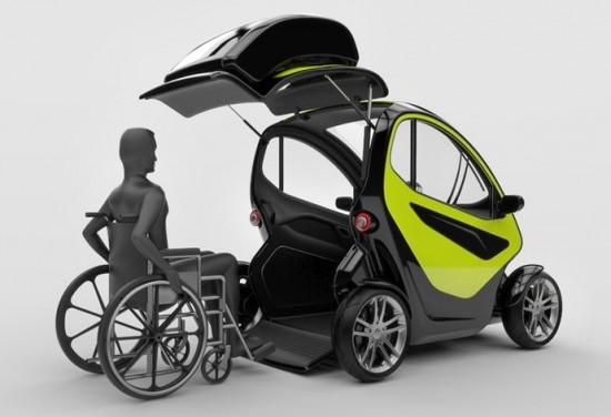 voiture électrique handicapés