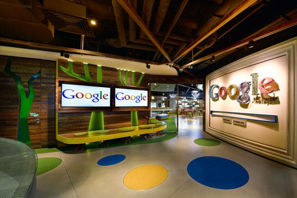 Les bureaux de détente de google a part ça