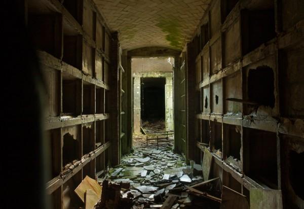 mausolée abandonné Hamilton