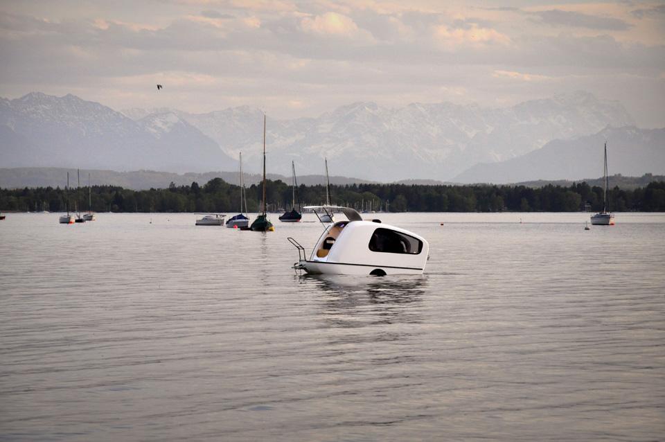 Sealander camping car amphibie