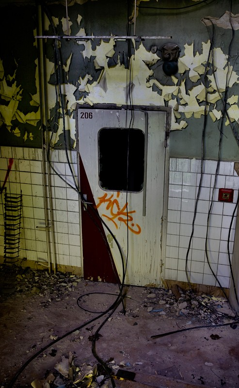 hôpital pour enfants abandonné