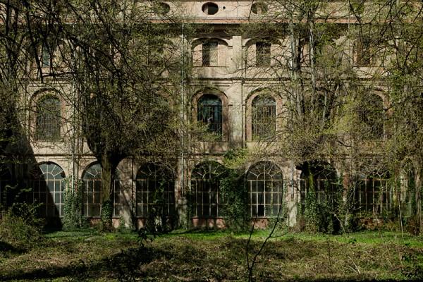 asile abandonné Manicomio Francesca