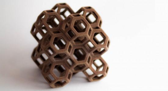 sucre imprimé en 3D