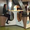 A l'aéroport d'Amsterdam il faut pédaler pour charger son téléphone