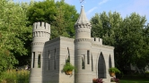 Un château créé grâce à l'impression 3D