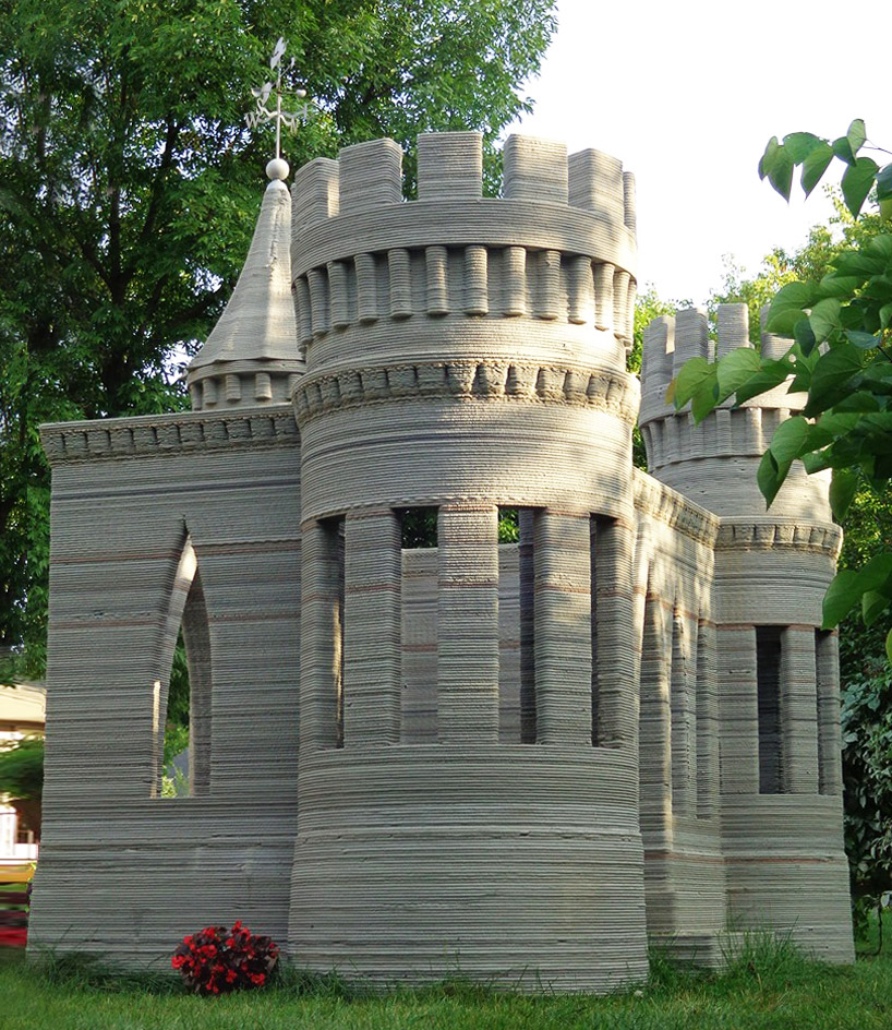 impression 3D chateau