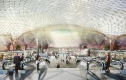 Norman Foster dévoile l'aéroport le propre au monde