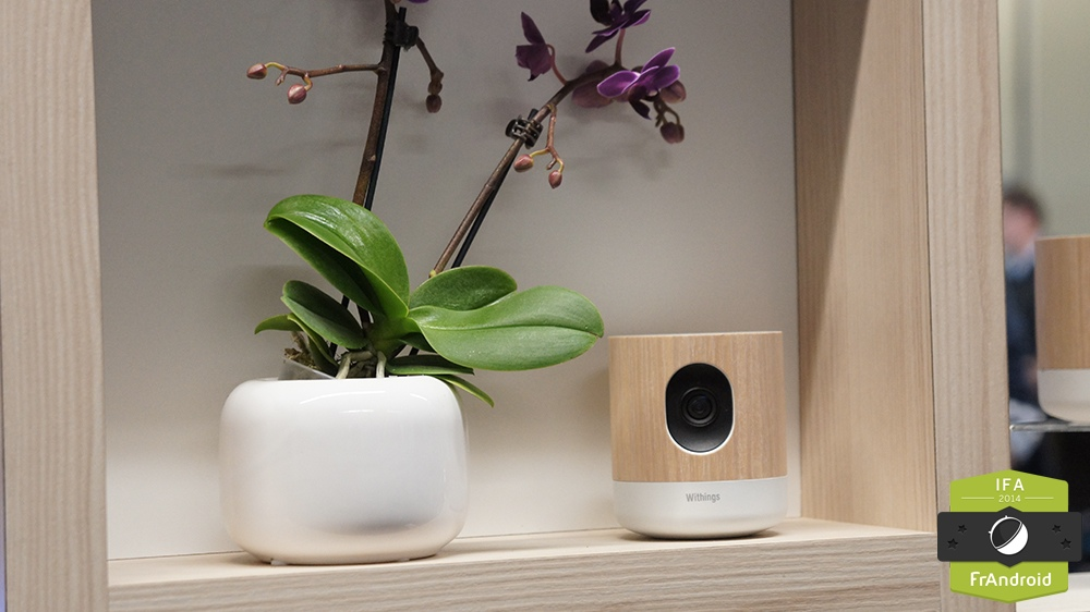 caméra Withings Home