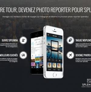 Splendia présente le premier guide de voyage réalisé à partir de photos Instagram